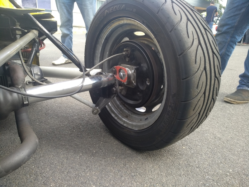 Formula Vee Tow Point rear