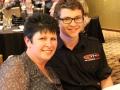 Todd Hazelwood & his Mum